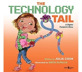 teaching media literacy, good digital citizenship, and Digital Rights and Responsibilities with Technology tail