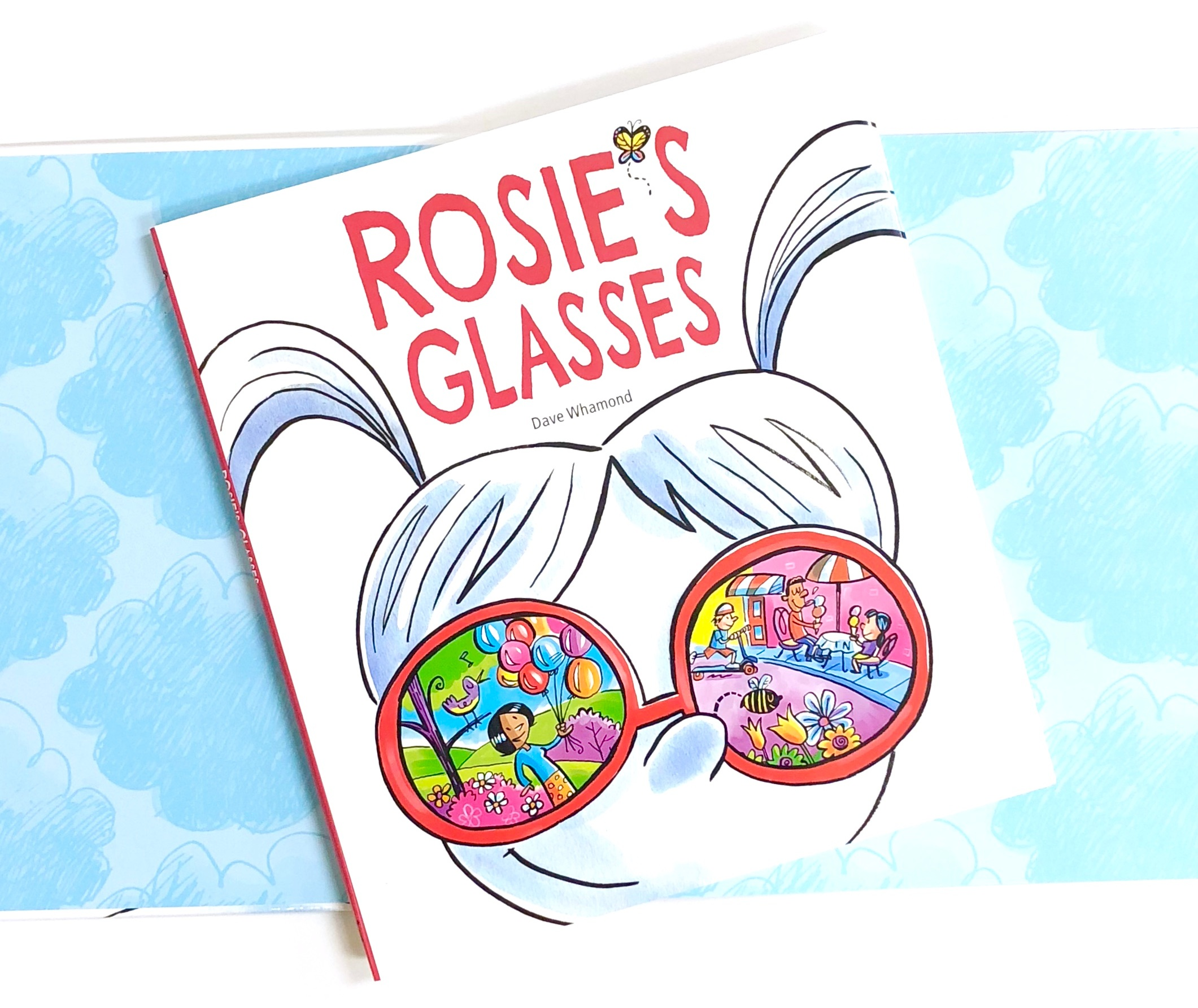 Teaching Perspective with Rosie's Glasses by Dave Whamond