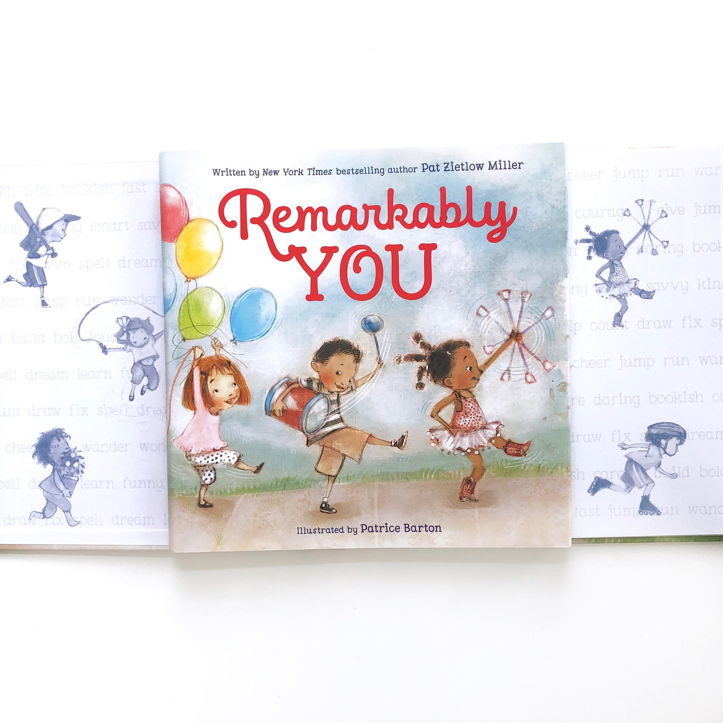 Self esteem books for kids, celebrate self with REMARKABLY YOU!