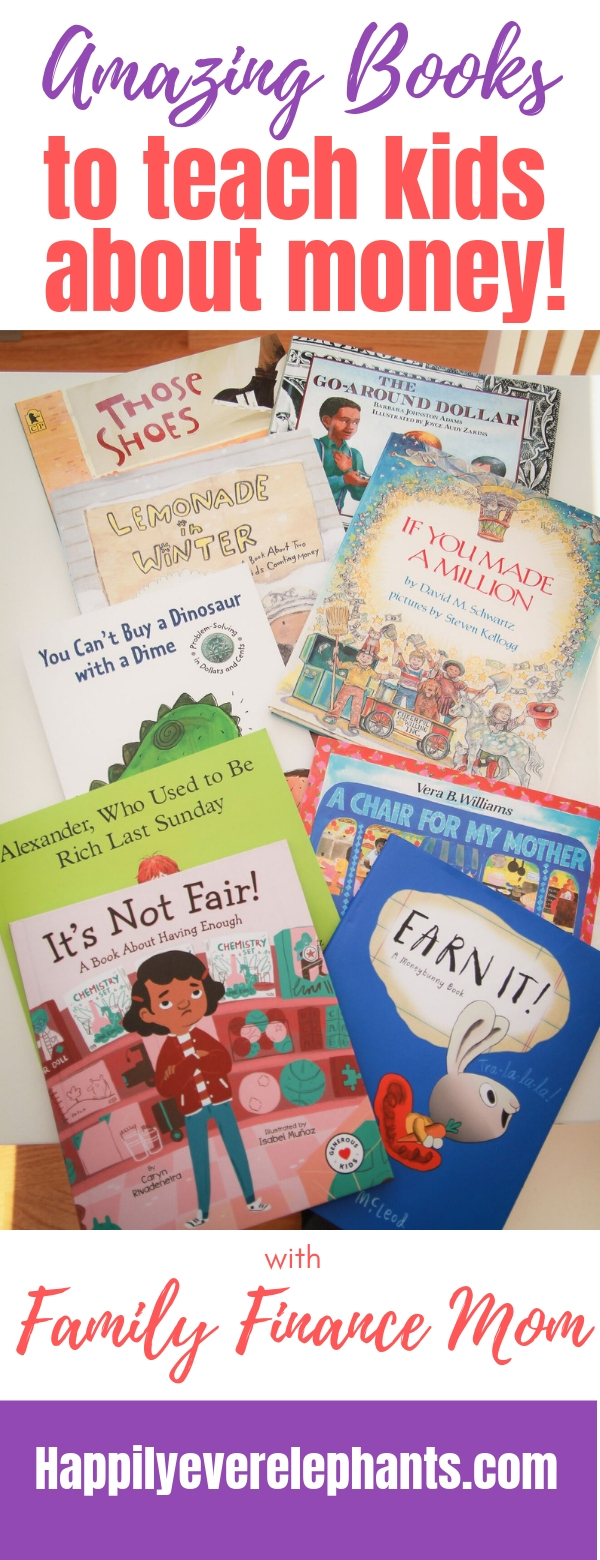 Books About Money for Kids! Great kids books about money to add to your collections!