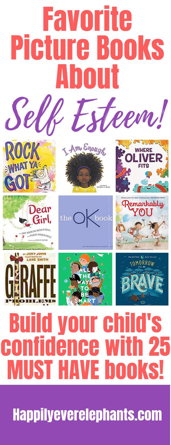 Self Esteem Books for Kids - 25 of our favorite children's books!