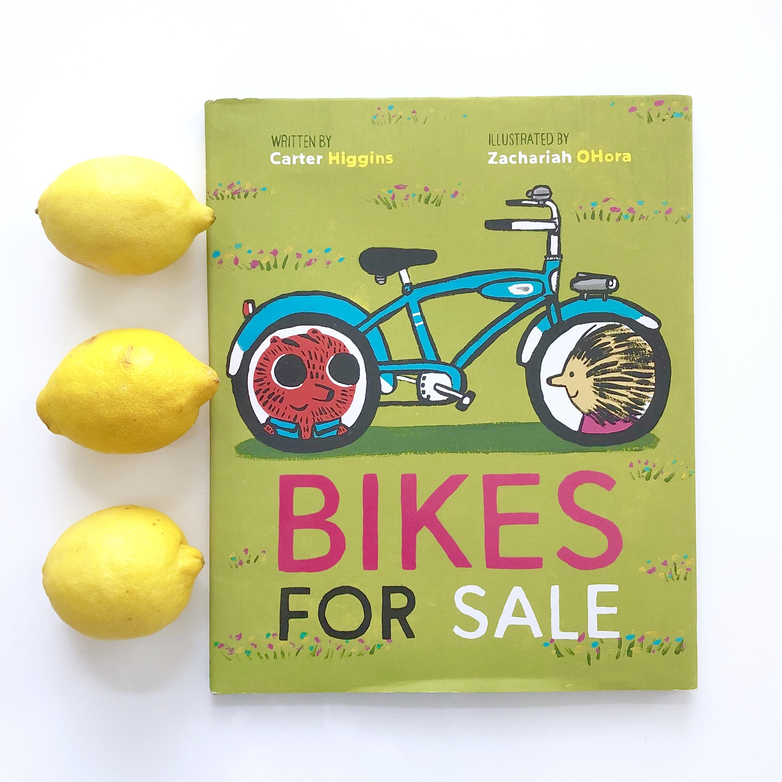 Picture Books About Friendship, Bikes for Sale, by Carter Higgins and Zachariah OHora