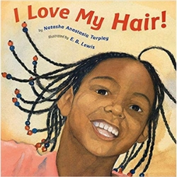 Diverse Baby Books I love my hair