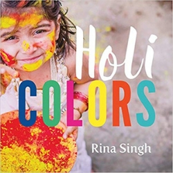 Diverse Baby Books Holi Colors