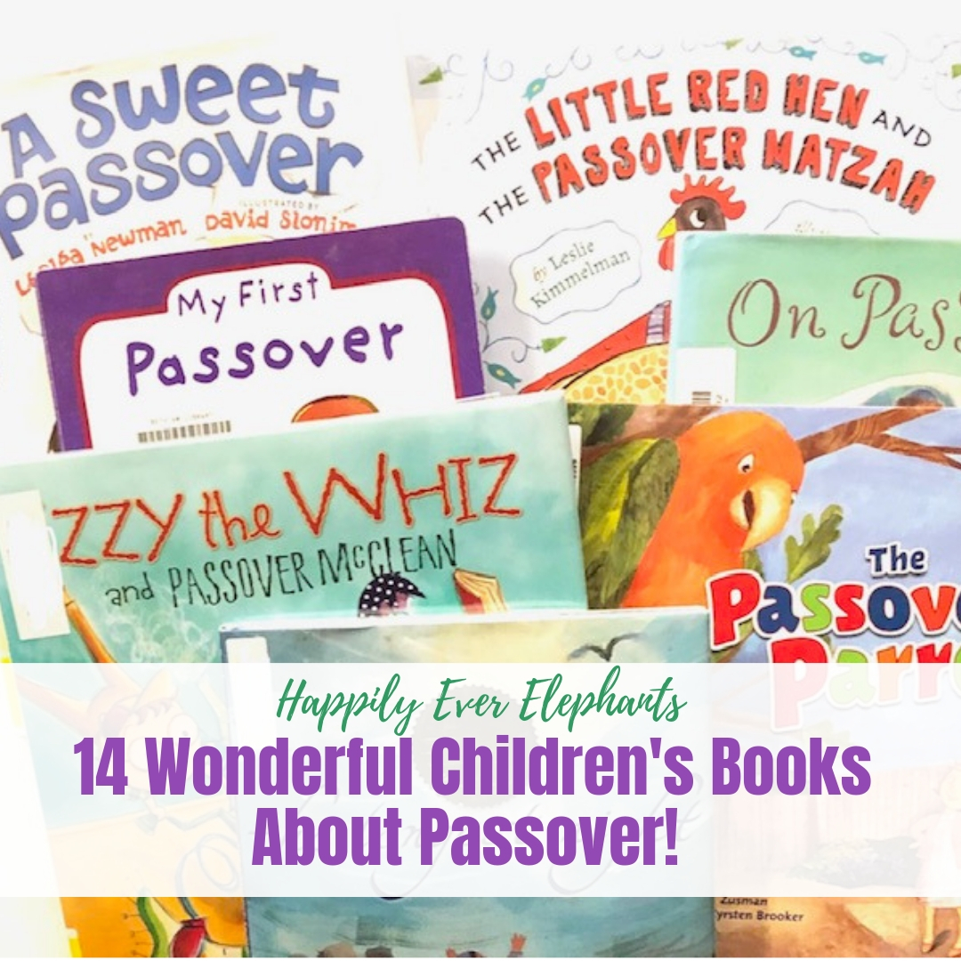 14 Children's Books About Passover!
