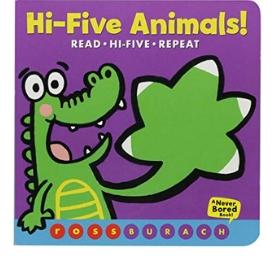 Interactive Board Books, Hi-Five Animals