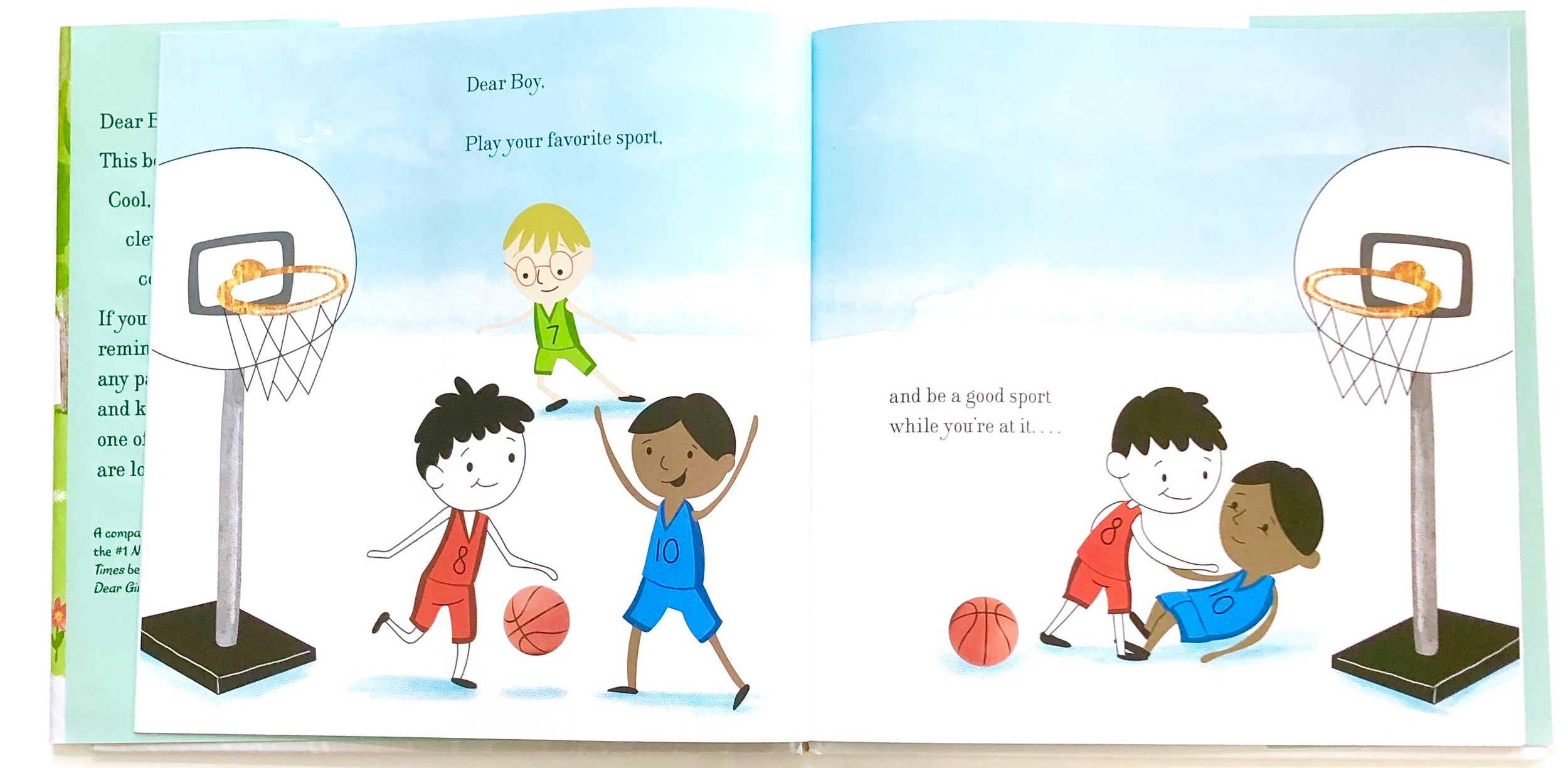 Books for Little Boys, DEAR BOY by Paris Rosenthal, Jason Rosenthal and illustrated by Holly Hatem