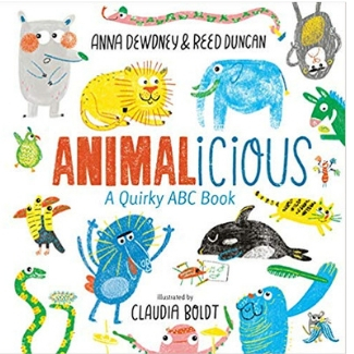 Alphabet books for toddlers, Animalicious