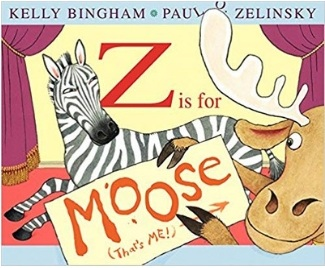 Alphabet Books for toddlers, Z is for Moose