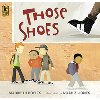 Picture Books About Friendship, Those Shoes