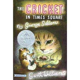 Books for Advanced Readers, 2nd graders, The Cricket in Times Square