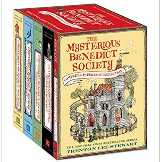 Books for Advanced Readers, 2nd and third grade, The Mysterious benedict Society.jpg