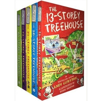 Books for Advanced Readers, 2nd grade, 13th Story Treehouse.jpg