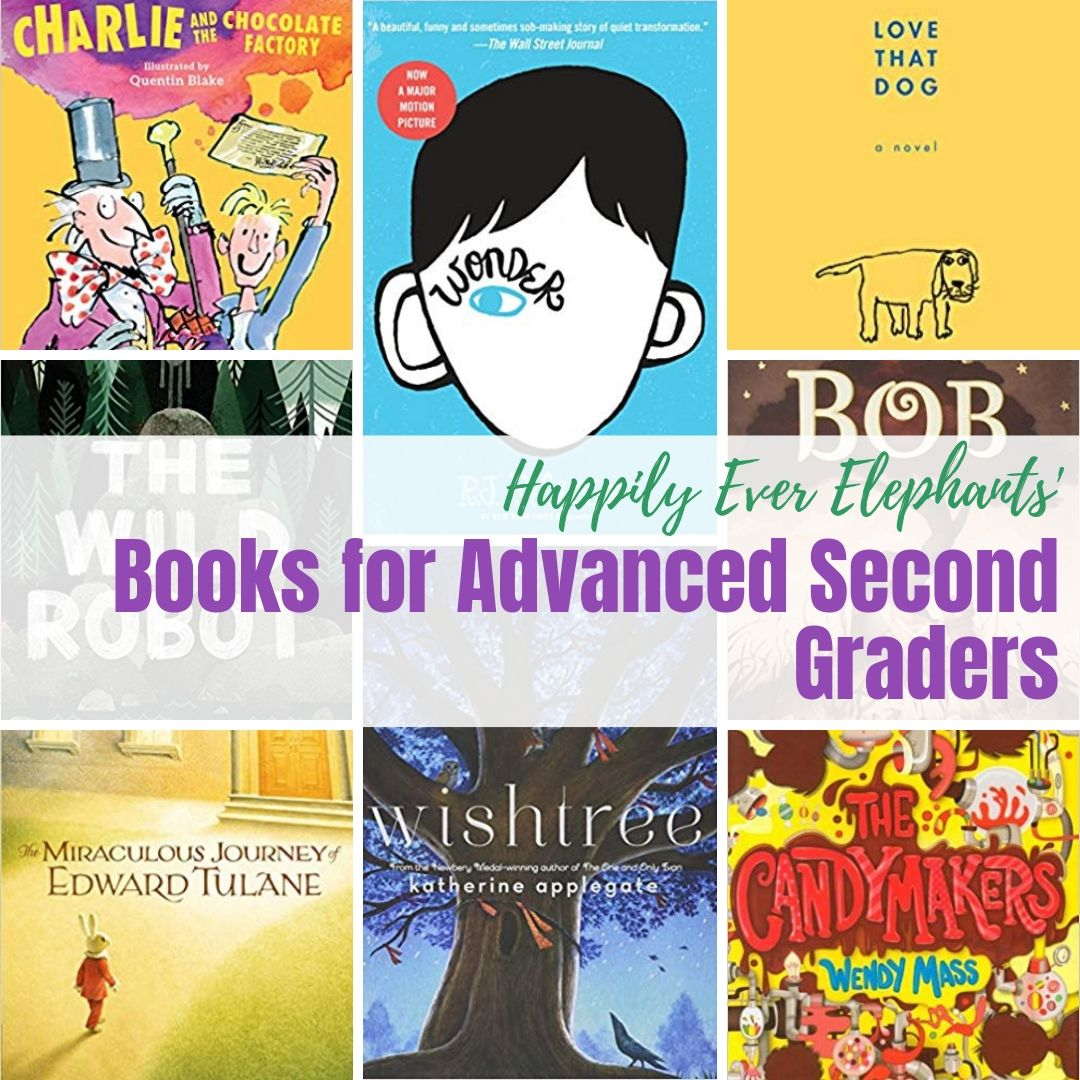 Books for Advanced Readers, especially your strong second grade book lovers!