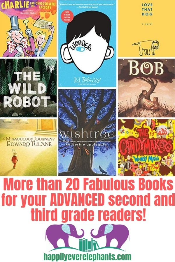 Amazing Books for Advanced Readers in Second and Third Grades!