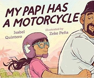 Children's Books About Dads, My Papi has a Motorcycle