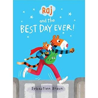 Children's Books About Dads, Raj and the Best Day Ever