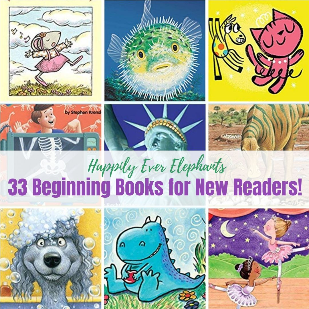More Beginning Books - Looking for more beginning books for your new readers? Here is a list of 33 MORE phenomenal stories. Our first list was so successful that we came back with another one - and this one includes both fiction and nonfiction titles! If you have a little one who can't get enough of facts and trivia, he will love this new list which contains books about the body, our world, famous people and famous places.