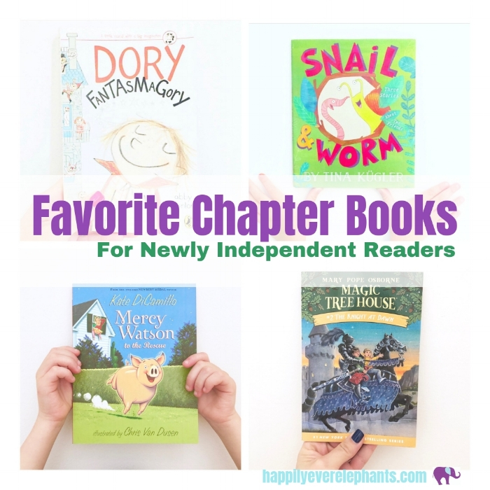 Easy Chapter Books - These are some of our favorite easy chapter books for your beginning readers who are now reading solidly on their own. From stand-alone books to series, we've got you covered here with a bunch of our favorites, each containing lively, unforgettable characters with whom your kids will fall in love!