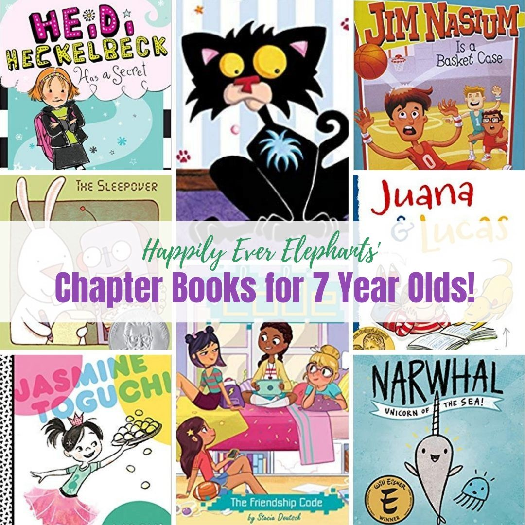 Best Books for 7 Year Olds - Here is another fabulous list of some of the best books for 7 year olds, many of whom are just mastering reading on their own and can't wait to tackle chapter books. Here you'll learn why a good series is so valuable to children and get a list of more than TWENTY of our very favorite series your kids will love. There is something for everyone on this list!