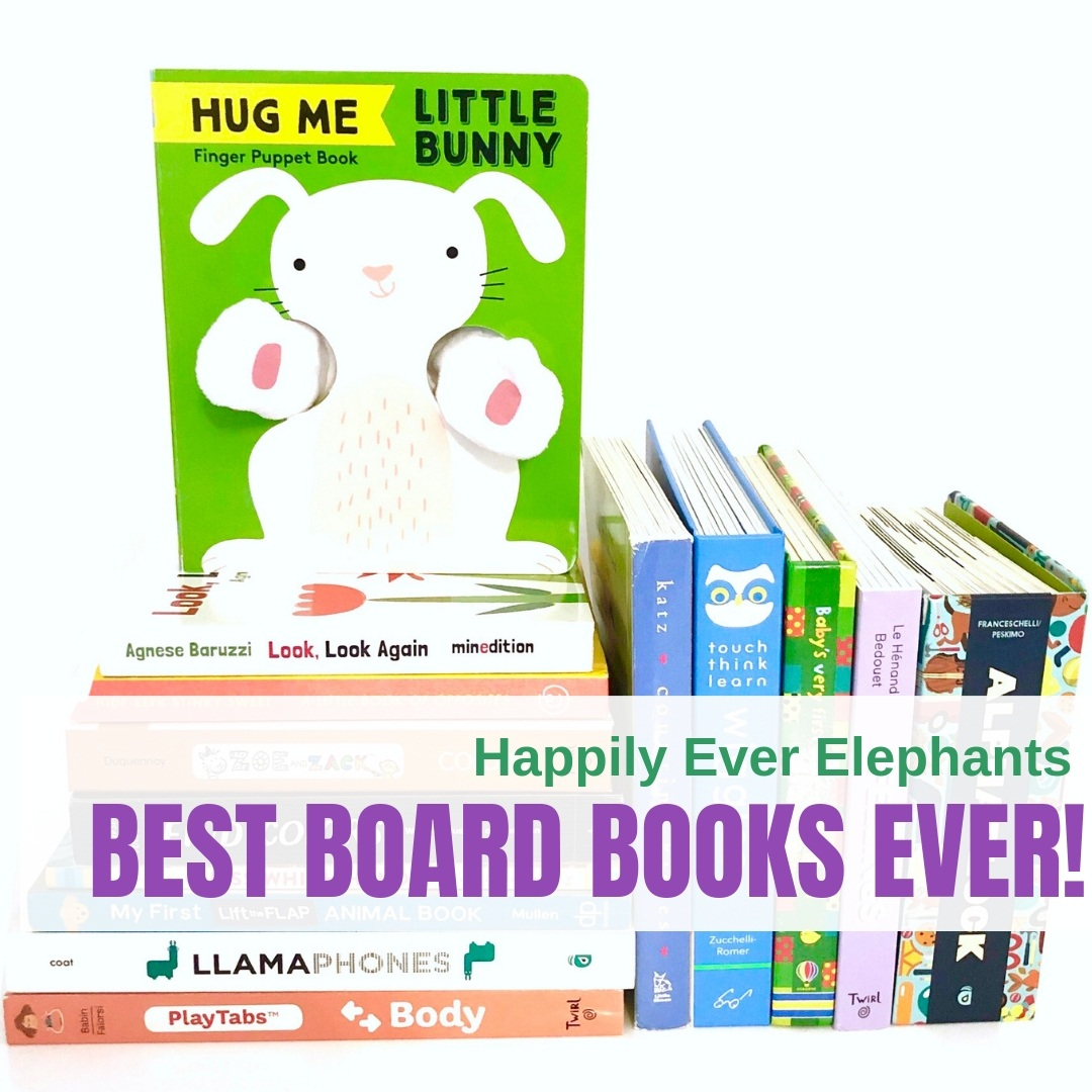 Guide to the Best Board Books - We've curated a phenomenal list of the best board books here! This list includes several books under numerous categories including black and white books for babies, interactive books for toddlers, alphabet books for toddlers, the best board books for teaching toddlers colors, numbers, and concept, and so many more! If you want one list with some of our top pics across the board, this one is for you!