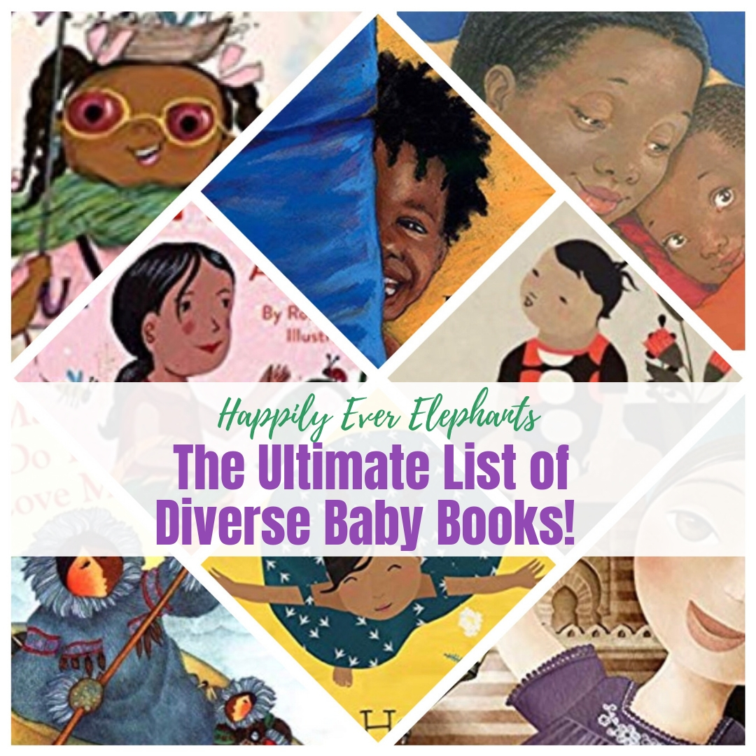 Diverse Baby Books! - Celebrate the whole world right inside your own home with these beautiful diverse baby books! Sharing diverse books with children helps our kids become more accepting, more compassionate, and less inclined to feel nervous or scared when they encounter children and adults who they perceive as being different from themselves.