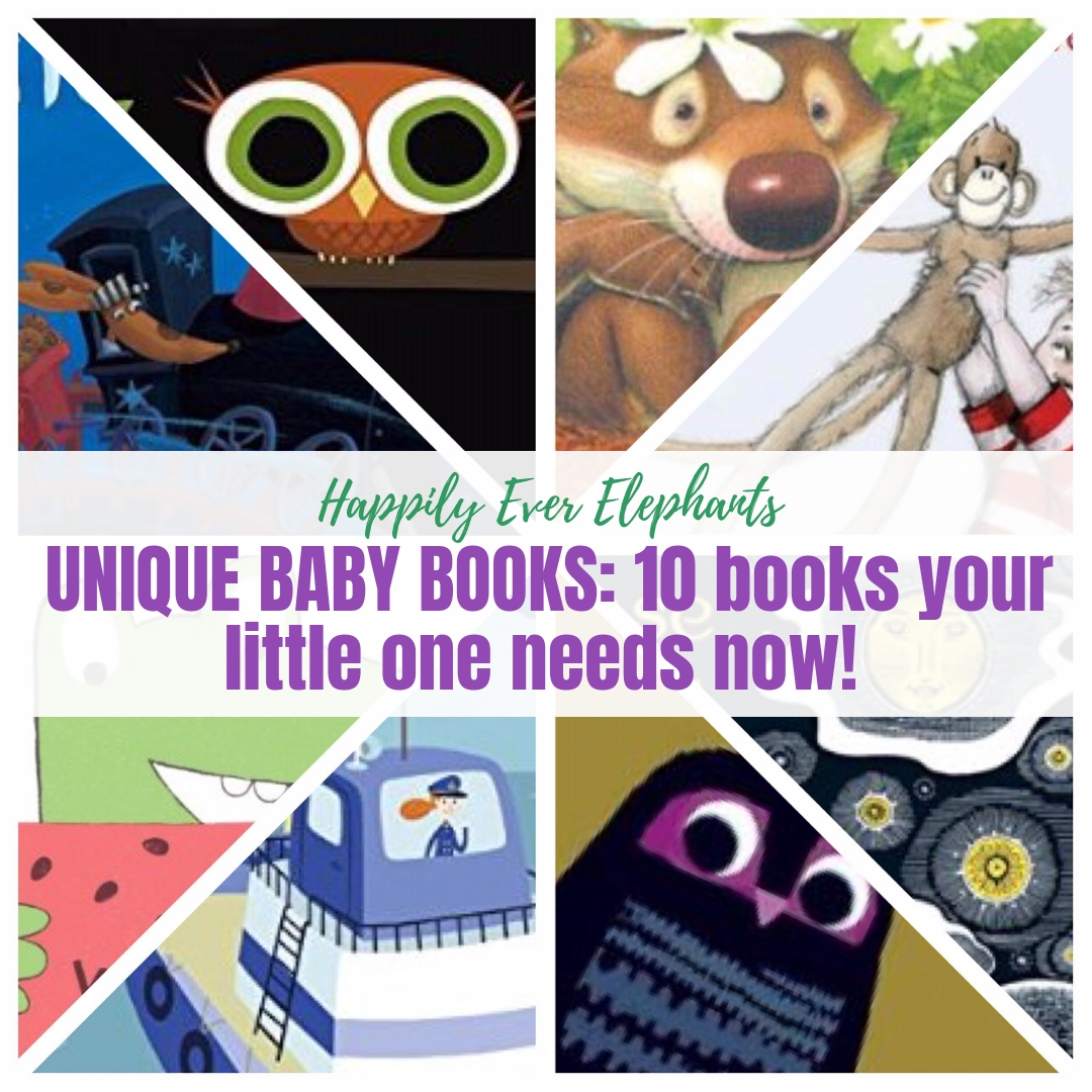 Unique Baby Books - Tired of the classics? These are some fabulously unique books that may be lesser known than Goodnight Moon but are just as deserving (if not more so!) of a spot on your shelves. These stories will delight your children from beginning to end — and they make the best baby shower gifts, too!