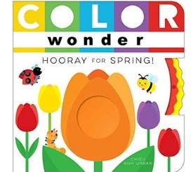 Interactive Books for Babies, Color Wonder Hooray for Spring
