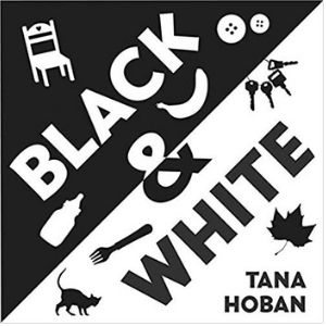 Black and white books for newborns, black and white
