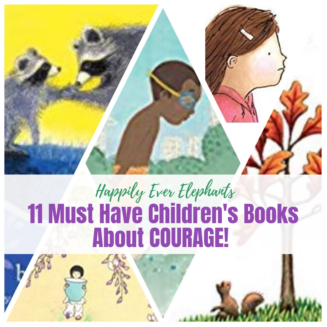Children's Books About Courage - Self confidence tanks when kids feel scared. What to do? Grab some of these picture books about courage to validate your children's fears and then help build their confidence to work through them. There are such gems on this list!