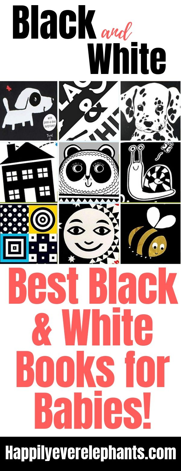 Black and White Books for Newborns! These are the 9 best books you need for your new baby!