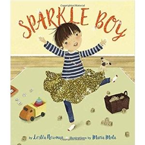 best books for boys, Sparkle Boy