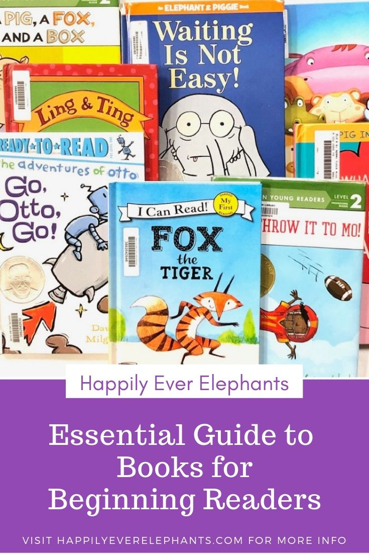 Books for Beginning Readers!