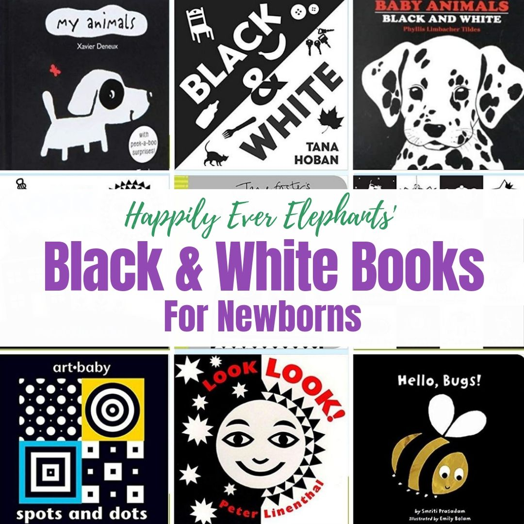 Black and White Books - If you have a newborn in your house, ditch the pastels! High contrast, black and white books are perfect for your littlest babes, not to mention ideal for their developing brains and eyes. Check out our list of favorites!