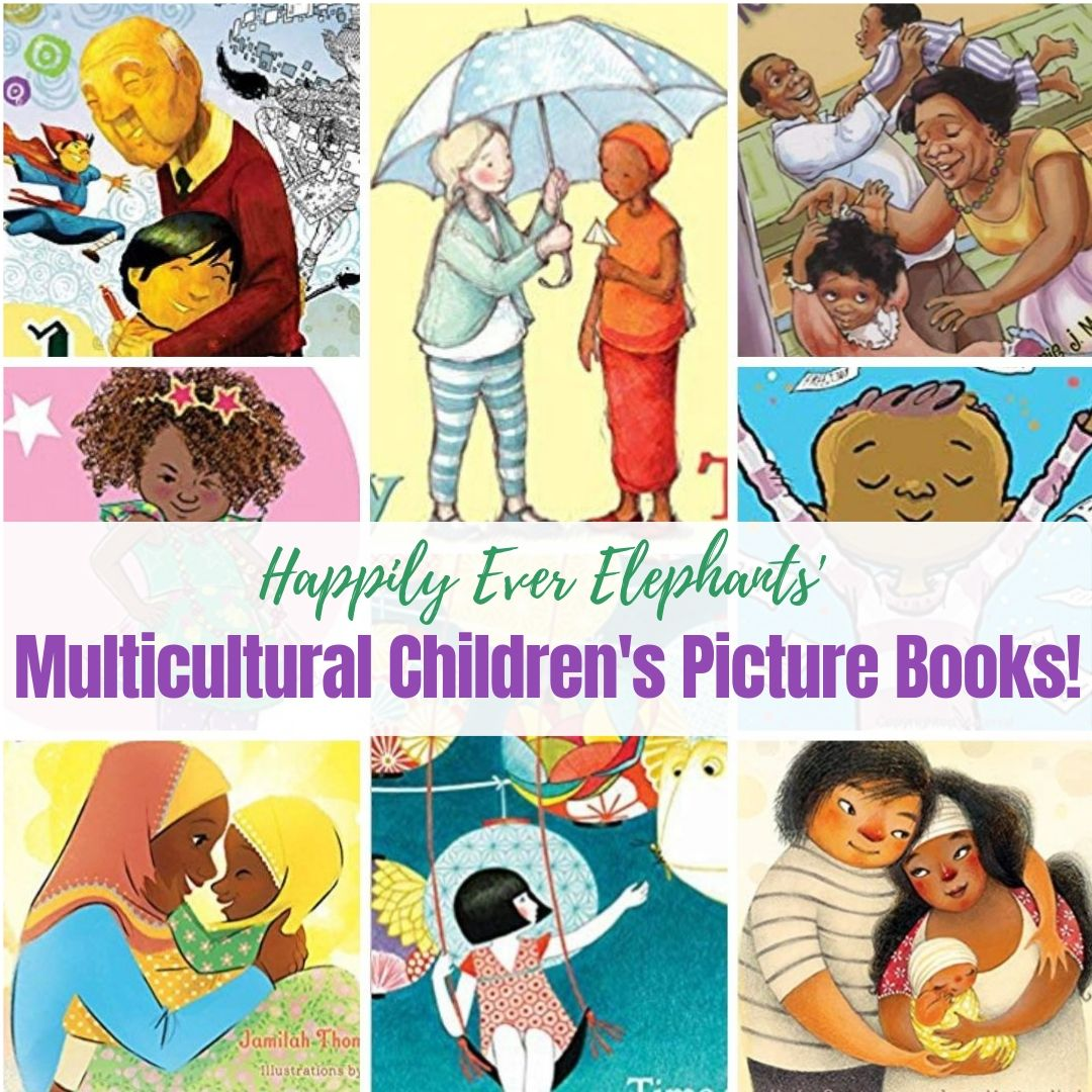 Multicultural Children's Books - Celebrate the world inside your home with these stunning multicultural children's picture books, 50+ titles to nurture empathy, build bridges and challenge harmful stereotypes.
