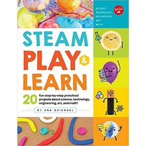 STEM Activity Books, STEAM Play and Learn