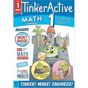 STEM activity books, Tinkeractive
