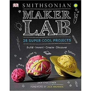STEM Activity Books, Maker Lab 28 Super Cool Projects