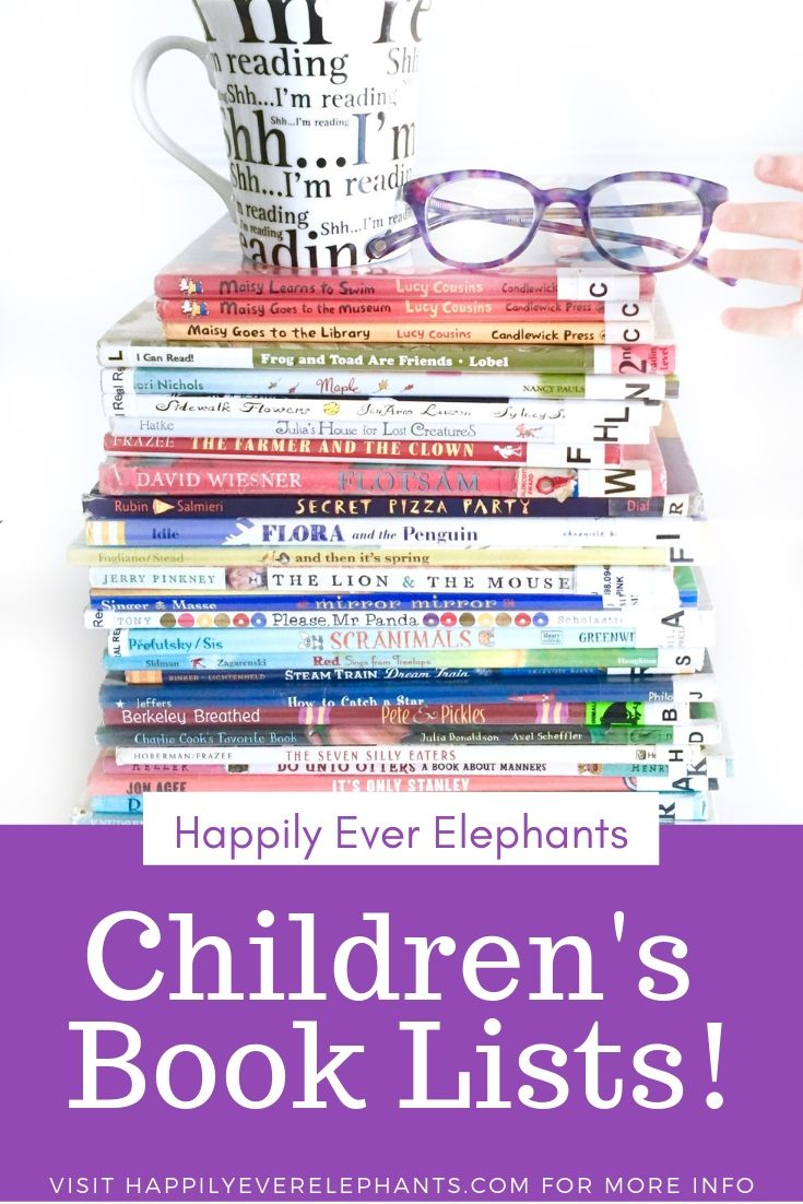 Children's Book Lists for Kids of All Ages!