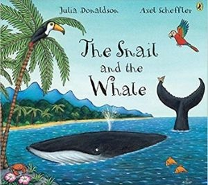Kids Books About Kindness, The Snail and the Whale