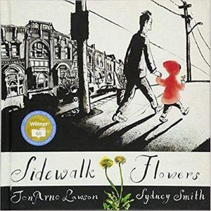Kids Books About Kindness, Sidewalk Flowers
