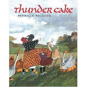 Books About Grandparents, Thunder Cake