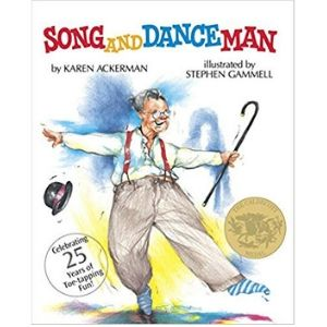 Books About Grandparents, Song and Dance Man