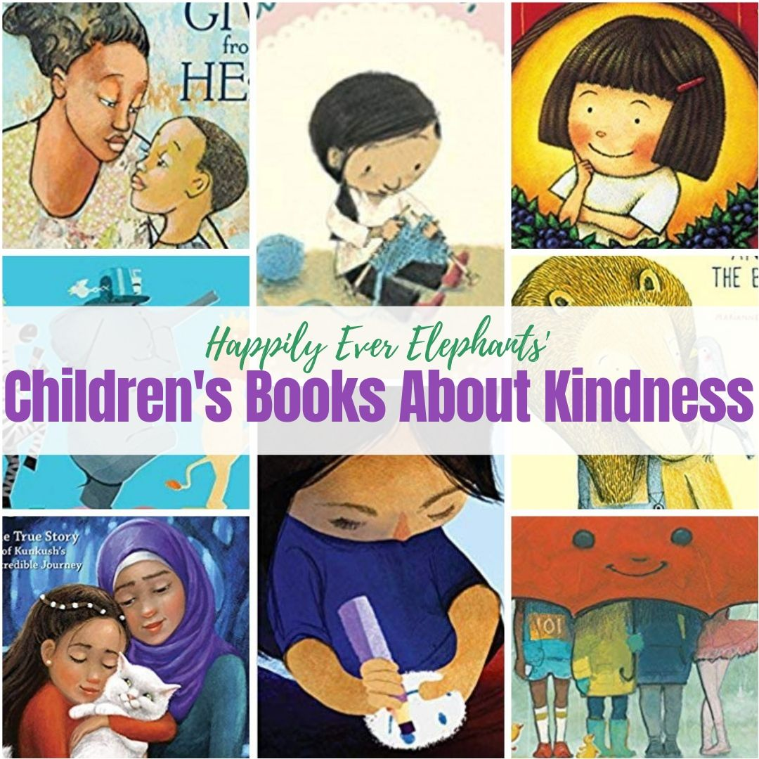 Books About Kindness - Kids books about kindness are some of the best tools to cultivate compassion in kids. Here are fifty of our very favorites, by a diverse selection of authors and illustrators. Enjoy!