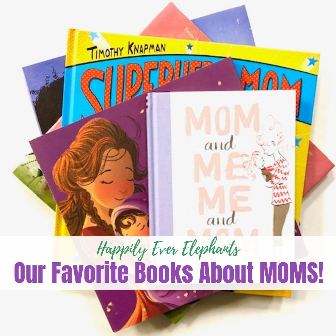 Books About Moms! - Moms should be celebrated all year long, and this awesome list of books and crafts will help you do just that!