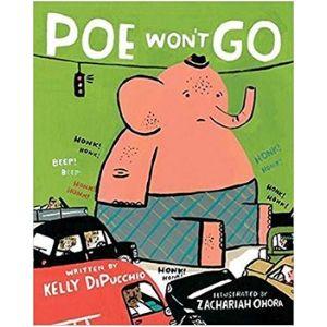 Children's Books About Friendship, Poe Won't Go
