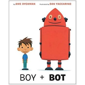 Children's Books About Friendship, Boy and Bot