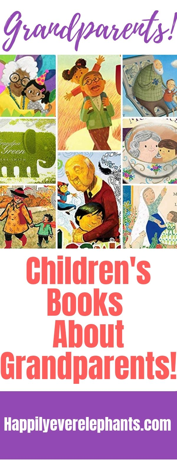The Best Books About Grandparents!