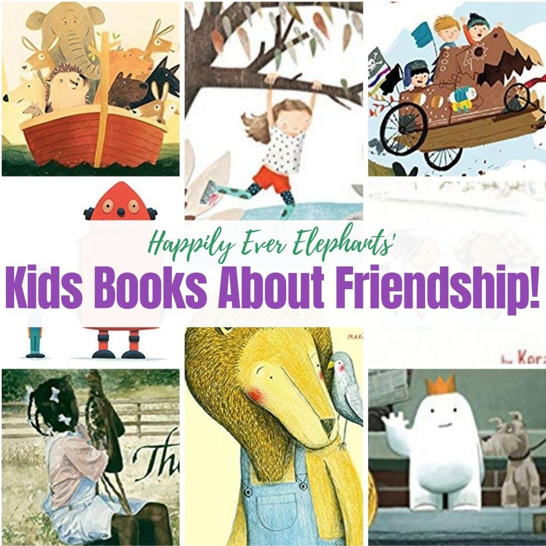 Friendship Books! - We love stories about friendship — books that celebrate the joy, drama and love between pals! Here are some of our very favorite friendship books!