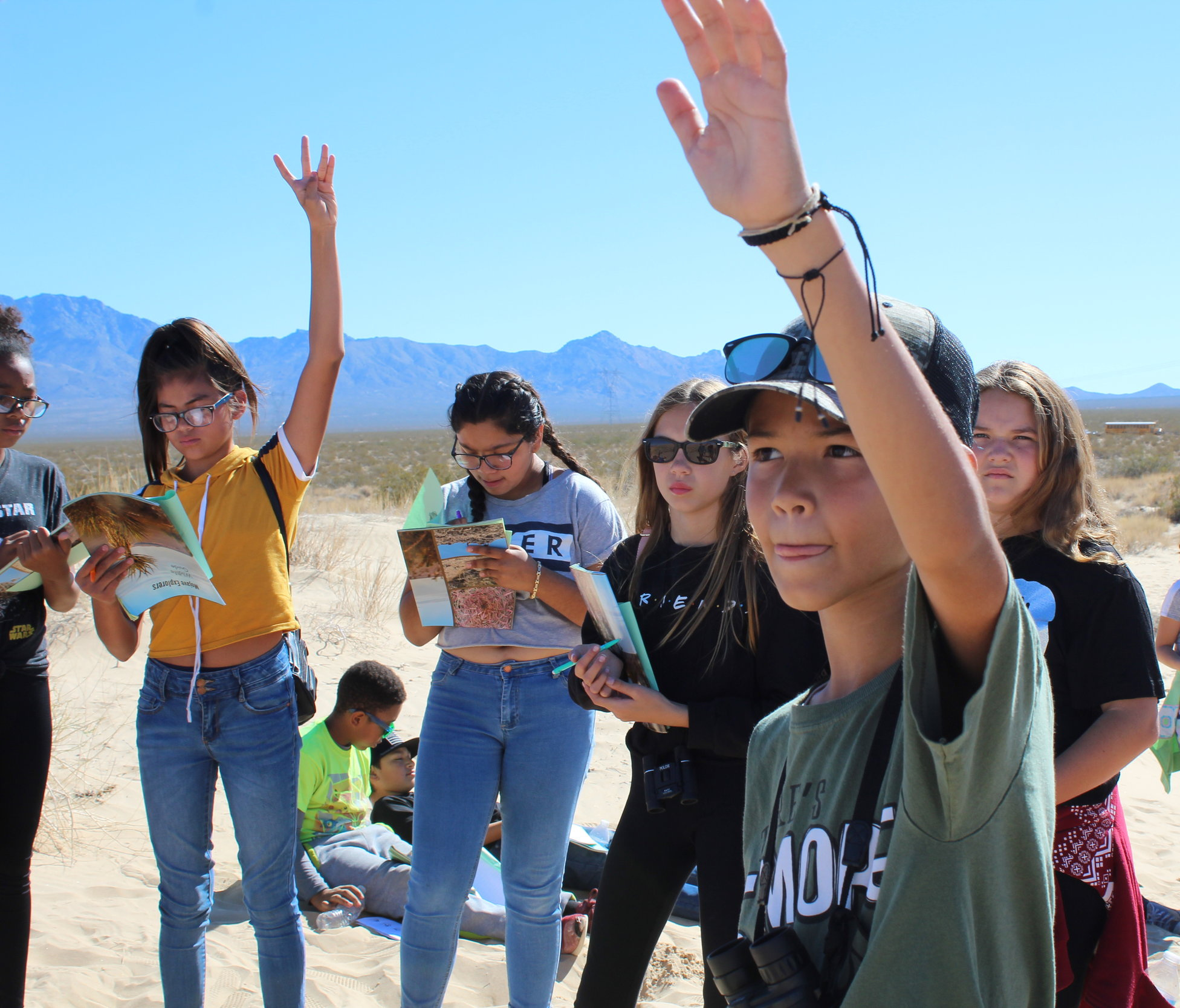 Exploring the Desert
